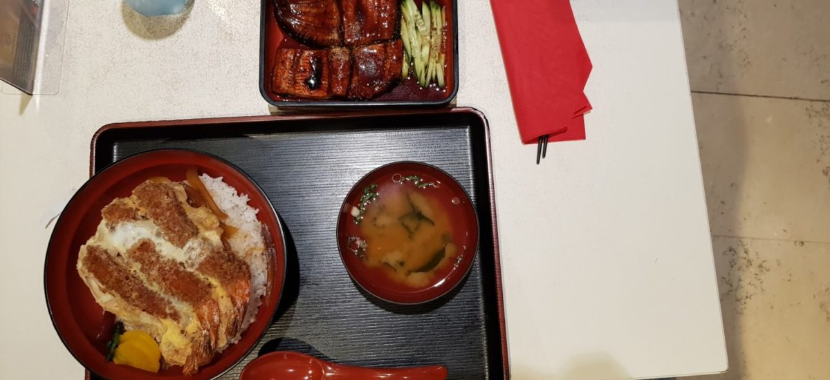 Ichi-ban Boshi - Ebi-don and Unagi Taster